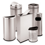 Precision Series Stainless Steel Receptacles